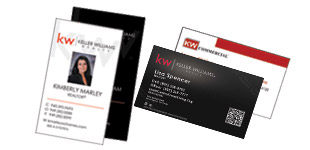 Keller Williams Business Card Section