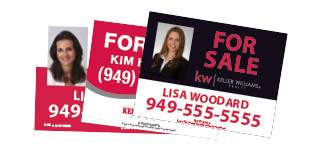 Keller Williams For Sale Sign Section