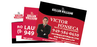 Keller Williams Open House Sign Section