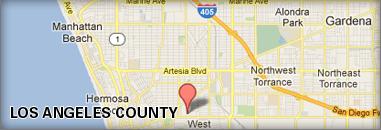 LA Map for JustClickMedia