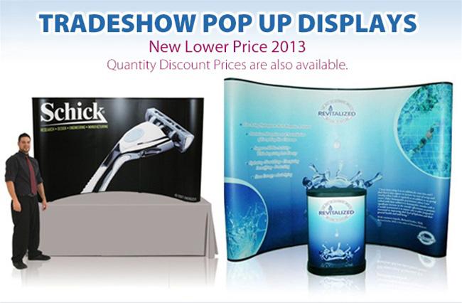 Tradeshow Pop-Up Displays