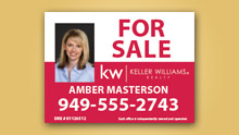 Yard Signs - For Sale Signs