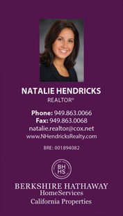 berkshire hathaway business cards - Vertical - Business Card Template - V6-Photo