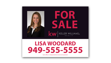 Killer Williams - For Sale - Yard Sign - 5-ForSale-Photo-KW
