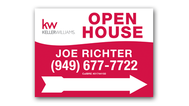 Keller Williams - 18x24 - Open House - 08