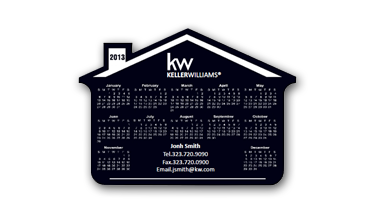 Keller Williams - Calendar House Magent - Black