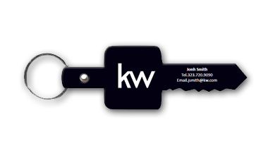 Keller Williams - Key Chain - BLACK