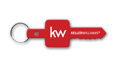 Keller Williams - Key Chain - RED