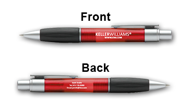 Keller Williams - Ball Pen - Red - Pen0068-08-Red